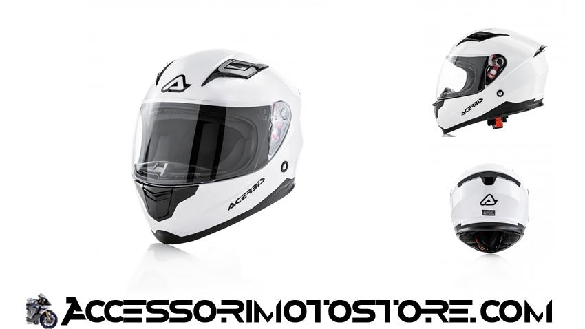 Casco integrale bambino Carlino Kid Acerbis cod.0023681.030