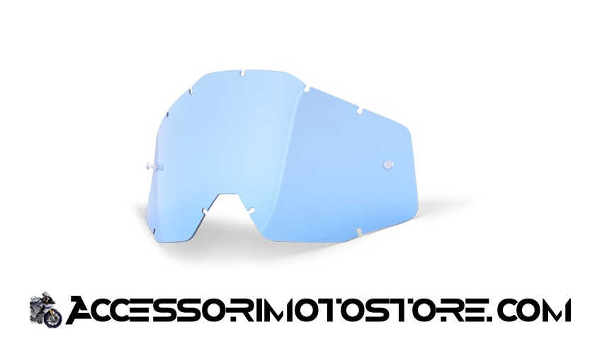 Blue lens for goggles 100% cod.462001