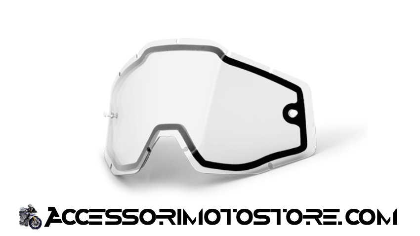 Clear double lens for goggles 100% cod.462013