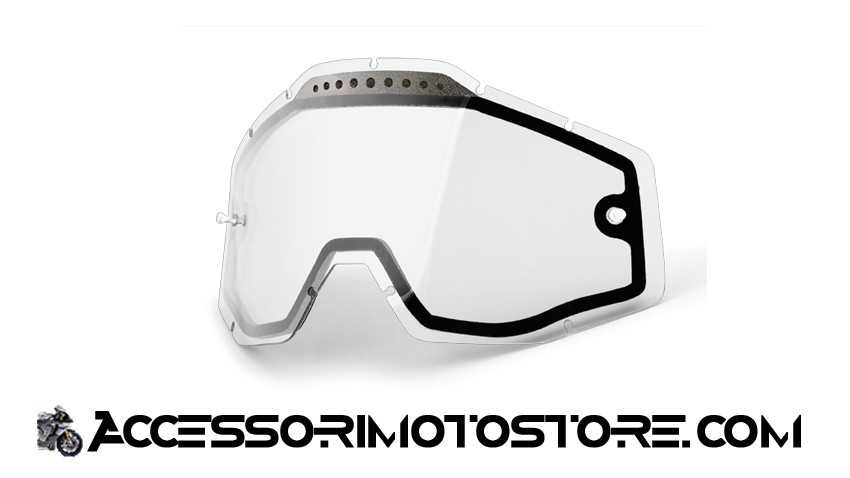 Clear double lens for goggles 100% cod.462015