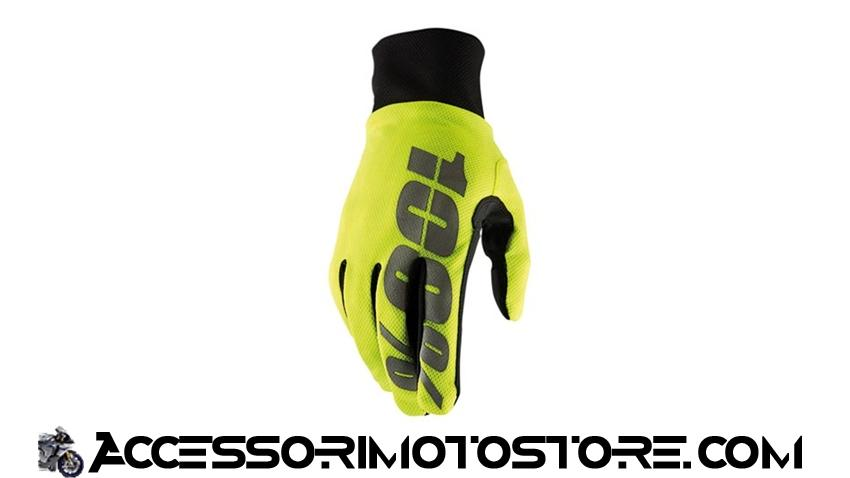 Guanti motocross HYDROMATIC WATERPROOF 100% cod.463061