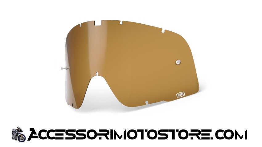 Bronze lens for goggles 100% cod.464505