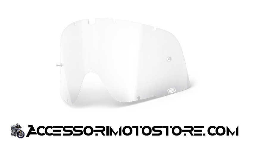 Clear lens for goggles 100% cod.464507