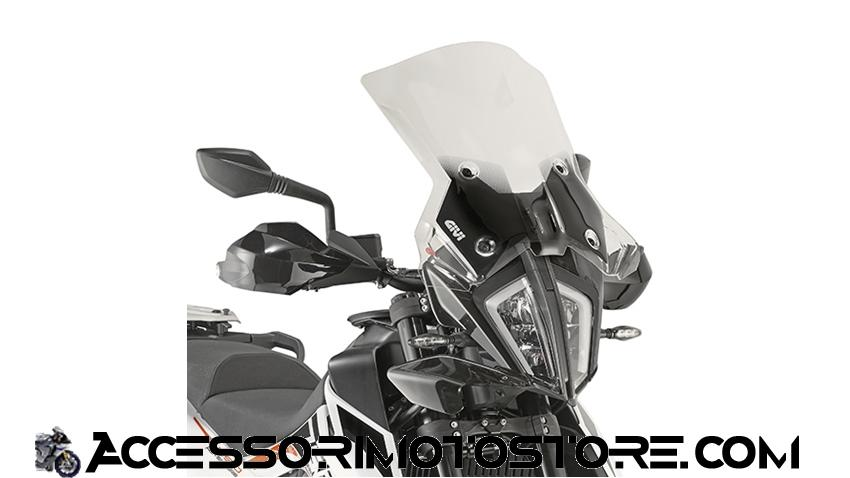 Cupolino 390 Adventure Givi cod.7710DT+D7711KIT