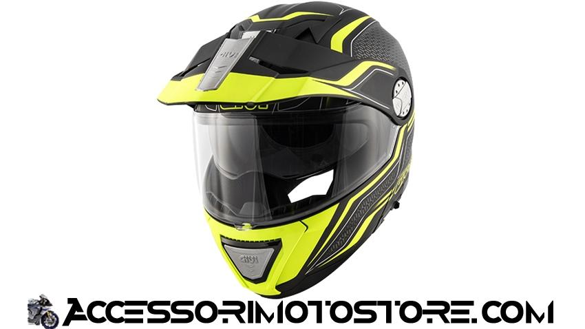 Casque modulable X.33 CANYON Givi cod.HX33FLYBY