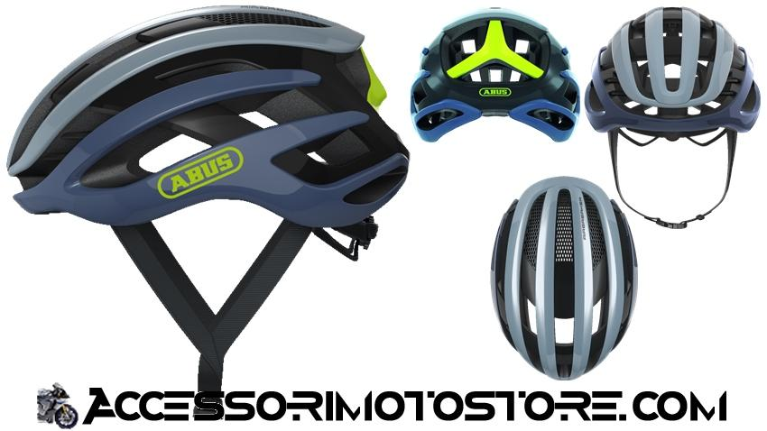 Casco bici AIRBREAKER Light Grey Abus cod.868.47.48.49