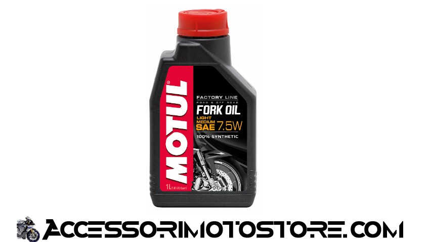 Aceite Horquillas FORK OIL LIGHT MEDIUM 7,5W Motul cod.105926