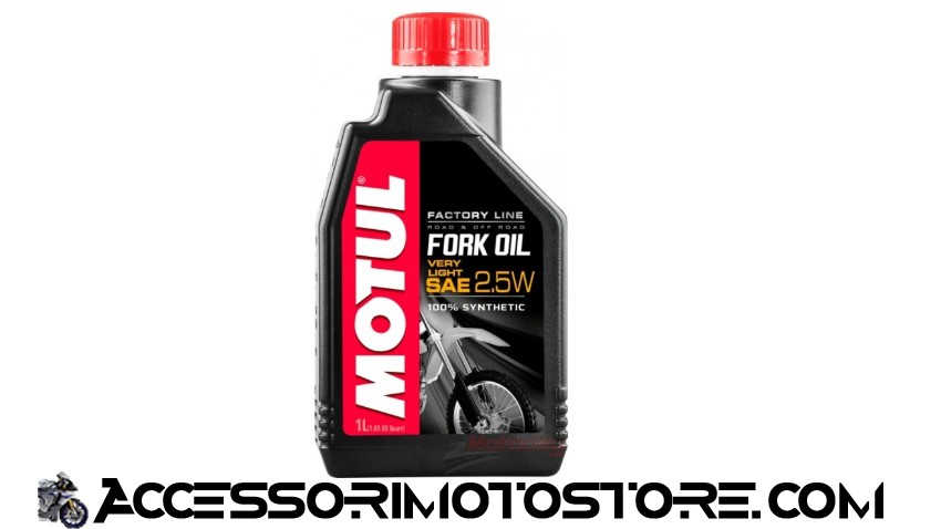 Aceite Horquillas FORK OIL VERY LIGHT 2,5W Motul cod.105962