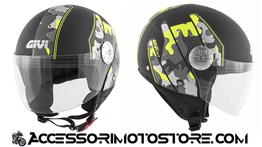 Demi-Jet helmet 10.7 MINI-J GRAPHIC Givi cod.H107FCMMY