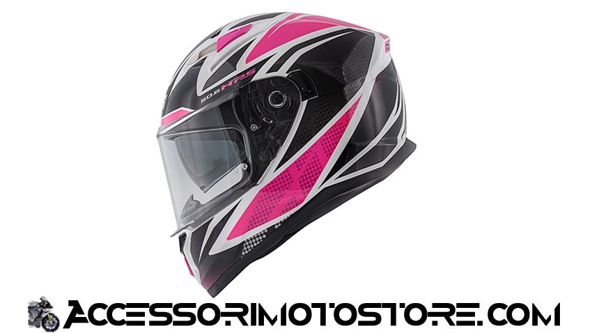Casco integrale 50.6 STOCCARDA FOLLOW LADY Givi cod.H506FFWWF