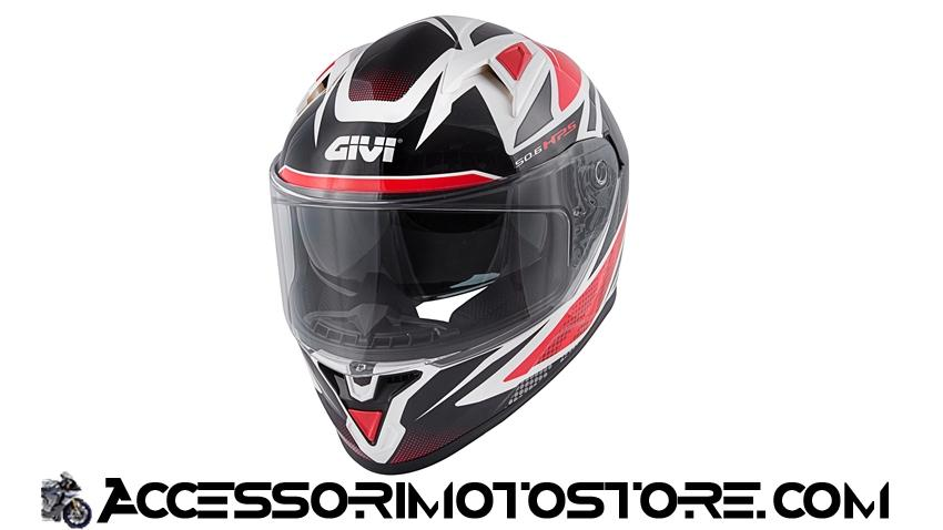 Casco integrale 50.6 STOCCARDA FOLLOW Givi cod.H506FFWWR