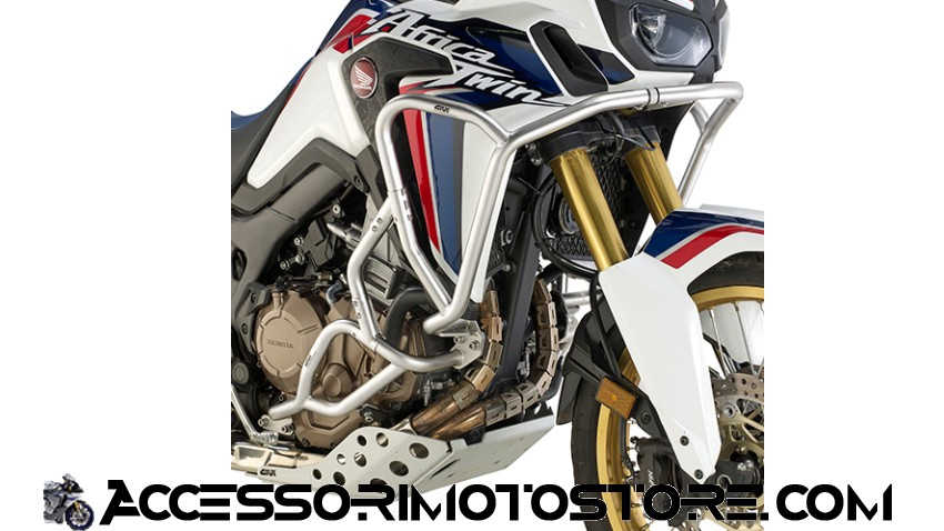 Paramotore tubolare specifico Africa Twin (18) c.TNH1144OX